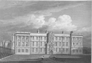Lyme_Park_(1819)_-_north_front