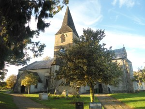 St Lawrence Church, Alton, where Jane attended some services