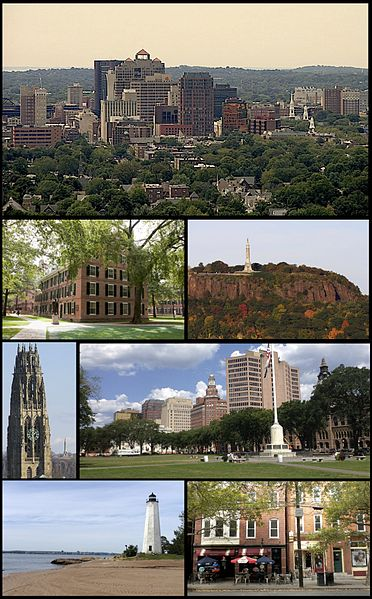 New Haven, CT (Wikipedia Commons)