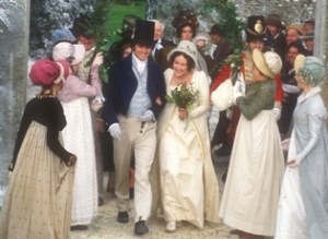 Lizzy and Darcy wedding