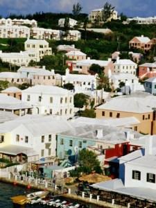 Modern day St. George's Town, Bermuda