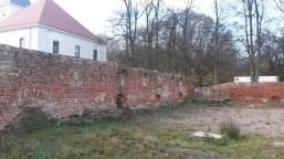 Altlandsberg originale Reste des Schlosses
