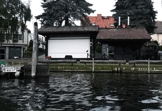 Fischerdorf Rahnsdorf (Fischer Thamm) vom Wasser aus