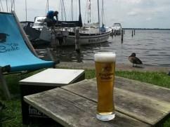 Pause am See (Die Borke, gerne auch Borkenstrand)