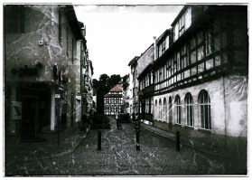"Gasse in der Altstadt Spandau (""gealtert"" ;-)"