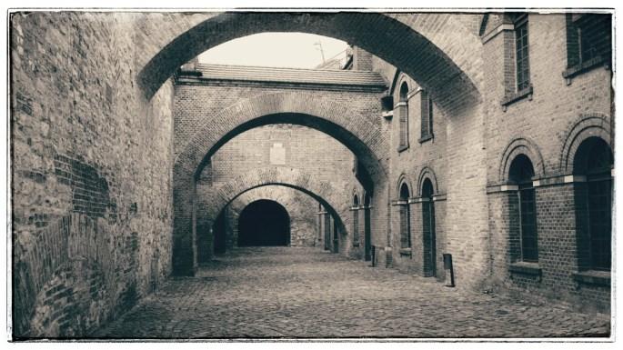 Blick in die Italienischen Höfe (Bastion Brandenburg in der Zitadelle Spandau)