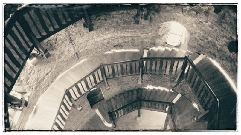 Innerer Blick nach unten (Juliusturm)