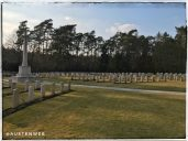 Englischen Soldatenfriedhof - Gräberfeld
