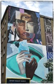 Berlin Mural Festival - Wiener Straße