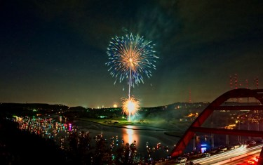 12 Perfect Places To Watch Austin Fireworks On The 4th Of July