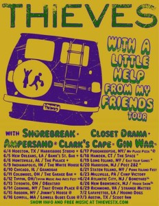 thieves tour poster