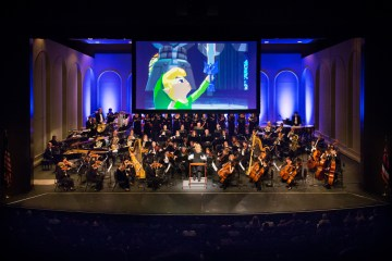 legend of zelda symphony of the goddesses long center performing arts austin atx master quest