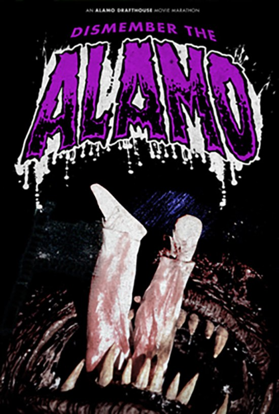 dismember the alamo drafthouse movie marathon halloween horror film flick scary
