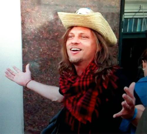 Austin comic Montgomery Wayne.