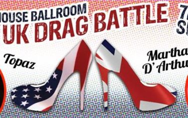 Drag Duel UK vs. US with Martha D'Arthur and Topaz