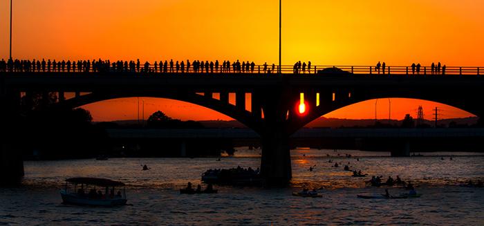 Congress Avenue bats bridge Ann W. Richards