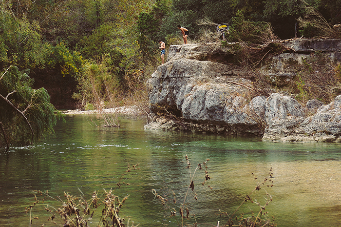 barton creek swimming hole