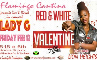 LADY G – Live & Direct in Concert with Lion Heights!