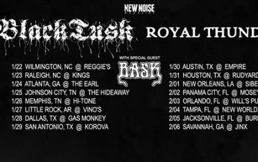 New Noise Magazine & Boss Tweed Backline Present : Black Tusk & Royal Thunder
