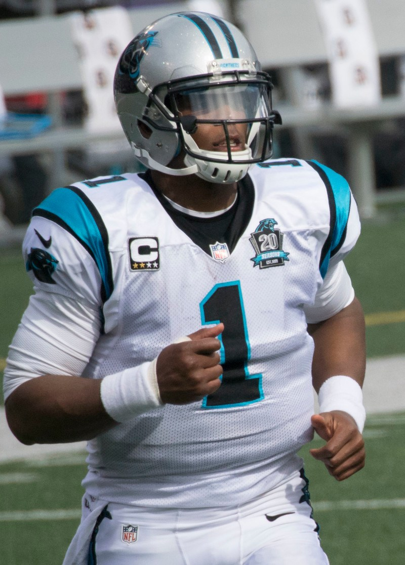 Dab with Cam Newton and the Panthers at San Jac Saloon, the official Panthers HQ! (Image via Flickr Creative Commons)