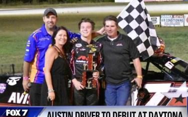 This Central Texas Teen Will Be Racing NASCAR At Daytona!