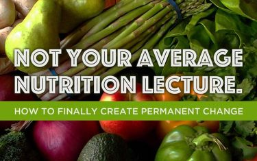 Not your Average Nutrition Lecture
