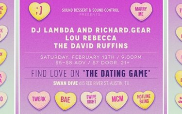 Sound Dessert & Sound Control Presents: The Dating Game!