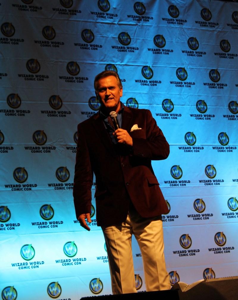 Bruce Campbell at Austin Comic Con