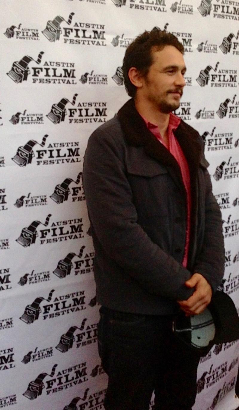 James Franco at Austin Film Fest