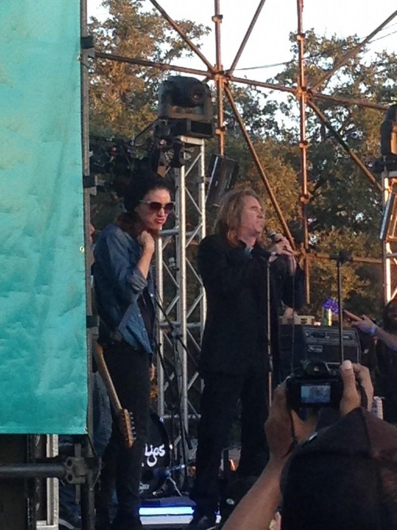 Rooney Mara and Val Kilmer at Fun Fun Fun Fest