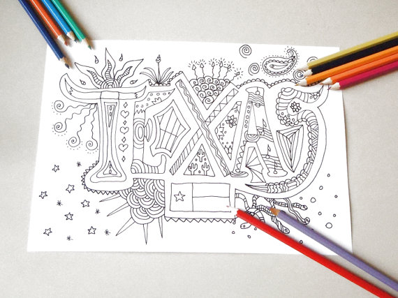 Austin.com We Totally Love These Austin Inspired Coloring Books