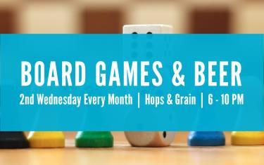 Board Games and Beer September @ Hops and Grain