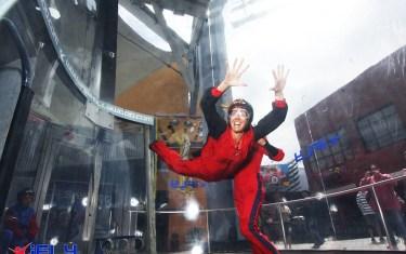 Adventurous Austinites Can Still Skydive, Rock Climb On Rainy Days