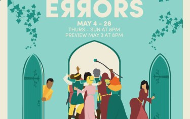 Free Shakespeare in the Park: The Comedy of Errors