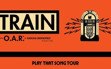 Train with special guests OAR & Natasha Bedingfield