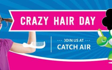 Crazy Hair Day at Catch Air Anderson Mill!