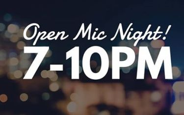 Open Mic Night at Gourdough's!