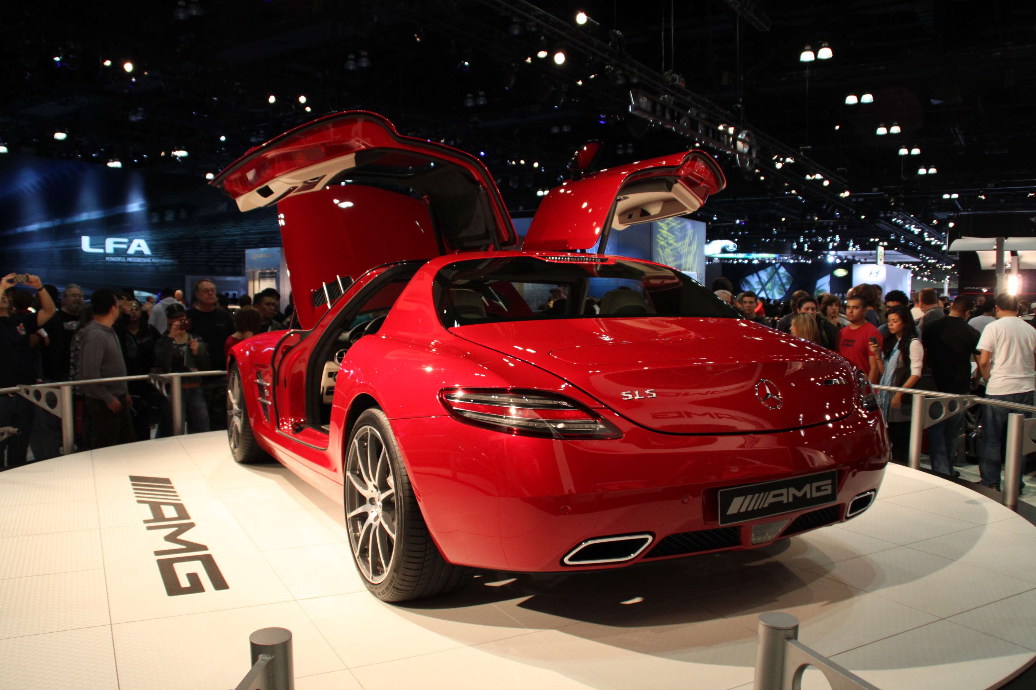Mercedes SLS AMG Gullwing