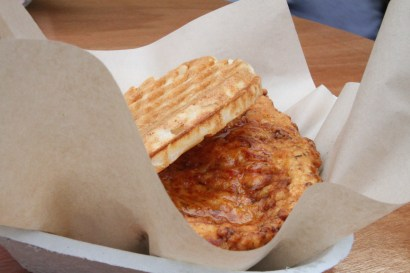 Bruxie's Chicken and waffles