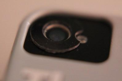 iPhone lens magnet sticker