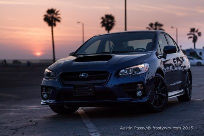 2015 WRX Santa Monica Sunset