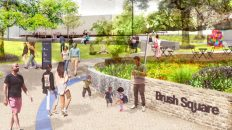 The Future's Bright for Downtown Austin's Historic Brush Square