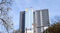 Spotted: Homewood Suites Gets Its Name Tag in the Rainey Street District