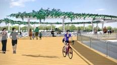 We've Got Options for East Austin's New Longhorn Dam Pedestrian Bridge