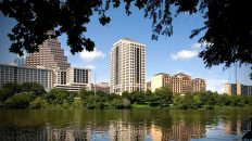 At San Jacinto Center, Austin's '80s Boom Built the Four Seasons Hotel