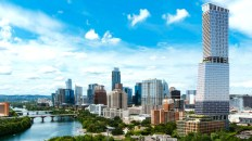 Downtown Austin's First 'Supertall' Tower Plan Arrives at Waller Creek Site