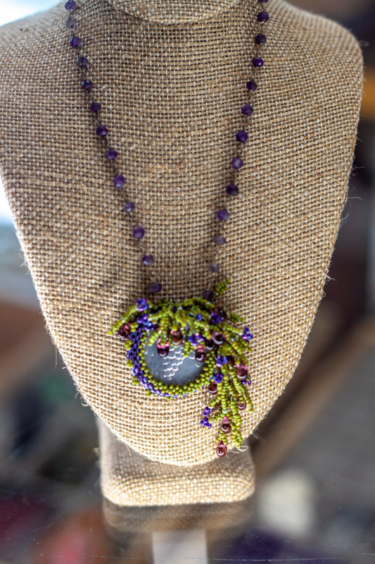Fringe Coin Necklace Jewelry classes Texas