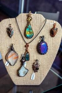 Stone gems jewelry design