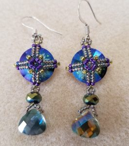 Doyenne's Medallion Earrings