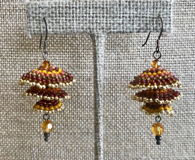 Pagoda Earrings - Southwest